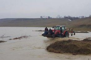 EVENIMENTInundații în nordul județului.  Inundate 70 de hectare de pășune și 50 de hectare de cereale – VIDEO/ FOTO