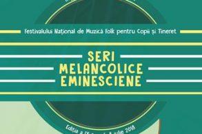 """EVENIMENTÎncep înscrierile pentru Festivalul """"Seri melancolice eminesciene"""", ediţia a IX-a!"""