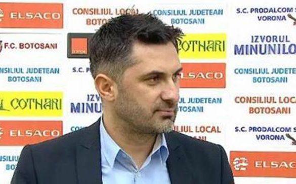 """SPORT- FOTBALCLAUDIU NICULESCU:  """"Suntem triști pentru că ne-am pus mari speranțe în meciul de astăzi"""""""