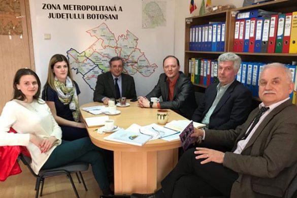 ADMINISTRATIEZona Metropolitană a primit vizita oficialilor de la Consiliul Regional Cernăuți