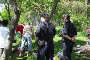 EVENIMENTAmenzi aplicate de jandarmi pentru tulburarea ordinii şi liniştii publice