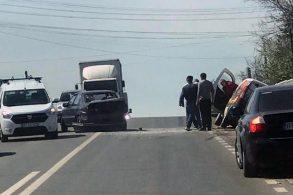ACCIDENTAccident provocat de un șofer neatent la Hudum