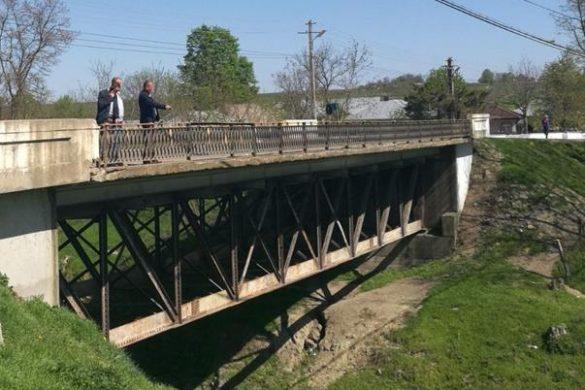 ADMINISTRATIEA fost efectuat primul pas pentru demararea lucrărilor de reabilitarea podului peste râul Jijia, din localitatea Broscăuți