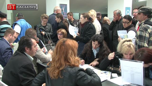 SOCIALZECI de persoane angajate PE LOC în urma interviurilor susținute, vineri, la Bursa generală a locurilor de muncă!