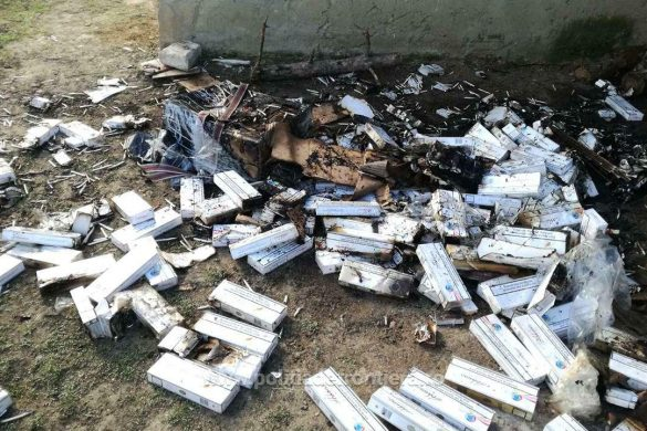 POLITICAUn botoșănean a fost prins de polițiștii de frontieră  în timp ce incendia țigări de contrabandă
