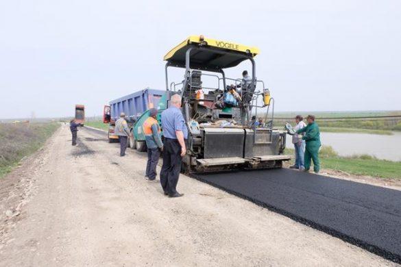 ADMINISTRATIESTART lucrărilor de asfaltare la Drumul Național 24 C  – VIDEO/GALERIE FOTO